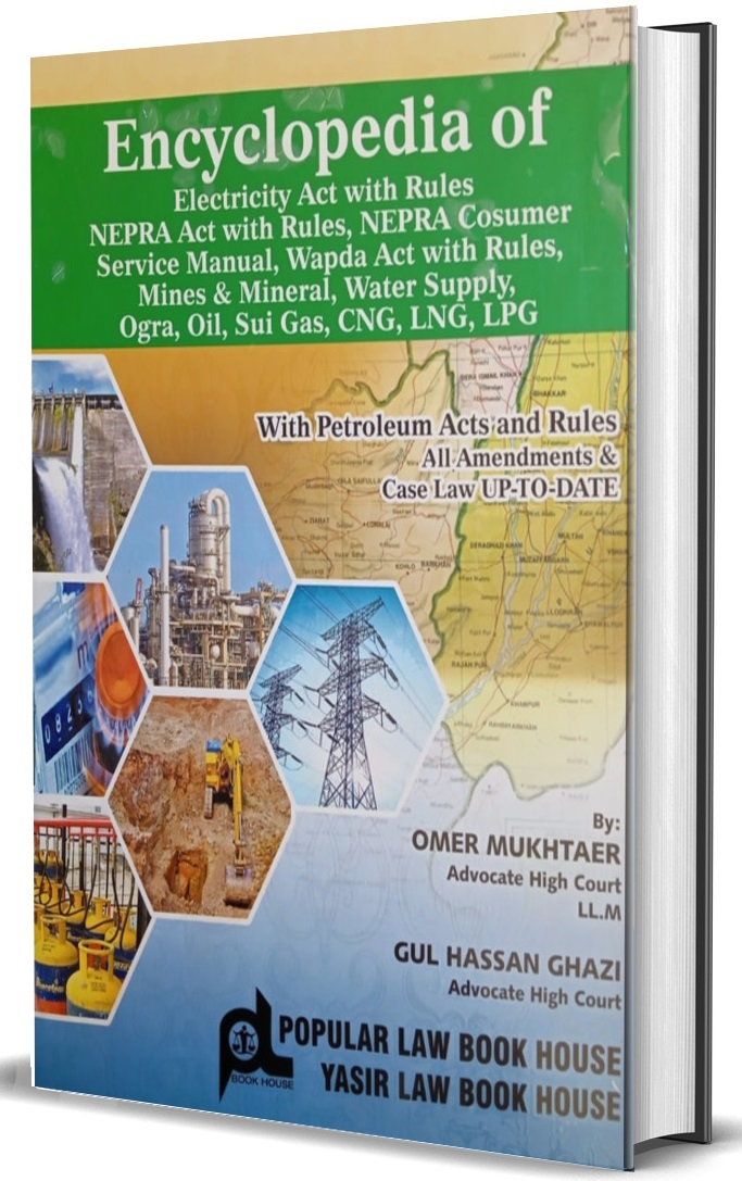 Picture of Encyclopedia of Electricity, Petroleum, Sui Gas, Mines & Minerals