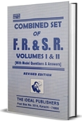 Picture of Combined Set of F.R. & S.R. Vol. 1 & 11 (With Model Questions & Answers)
