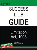 Picture of LLB Guide Limitation Act 1908