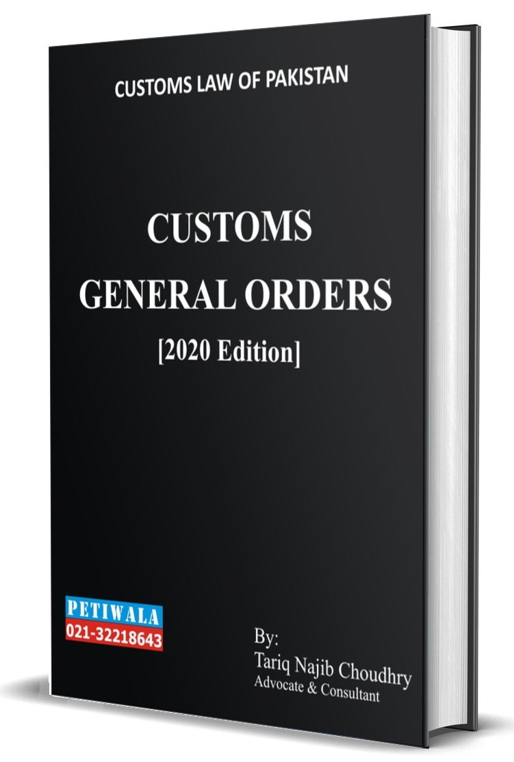 Picture of The Customs General Orders (2017)