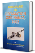 Picture of Defamation Ordinance, 2002