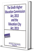Picture of The Sindh Higher Education Commission Act, 2013 and the Education City Act, 2013