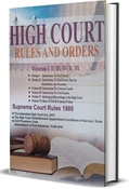 Picture of High Court Rules and Orders