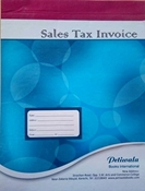 Picture of Services Sales Tax Invoice
