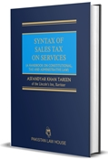 Picture of Syntax of Sales Tax on Services