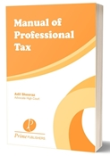 Picture of Manual of Professional Tax